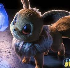 Eevee in Detective Pikachu by Jonathan Zárate Sánchez (Check the notes)    Detective Pikachu   Pokemon movies, Pokemon, Pokemon realistic