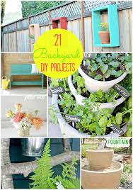 diy outdoor projects.  Projects 21 Outdoor DIY Projects Tatertotsandjellocom Now That Iu0027m Going To Have  A Back Yard Intended Diy D