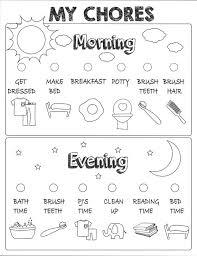 Kids Chore Chart Printable Positive Behavior Chart Star Chart Kids Planner Kids Reward Chart Responsibility Chart Weekly Chart