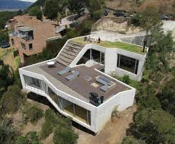 winsome inspiration small house plans on a slope 10 steep hillside
