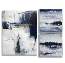 >chemistry blues three set painting