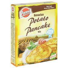 The water from the grated potatoes settles by itself. Amazon Com Panni Bavarian Potato Pancake Mix 6 63 Ounce Boxes Pack Of 12 Prepared Potato Dishes Grocery Gourmet Food