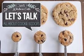 Food Scoop Size Chart Lets Talk All About Cookie Scoops