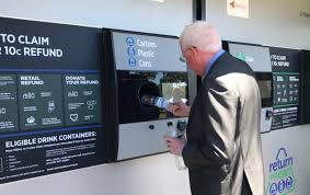 Reverse Vending Machine Recycling Interesting Reverse Vending Machines' For Recycling Bottles And Cans Could Be
