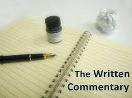 ib english written commentary