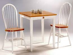 small kitchen table and chairs white and brown greenville home pertaining to small kitchen table and 2 chairs