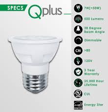 Par16 Light Qplus Par16 Led Light Bulbs