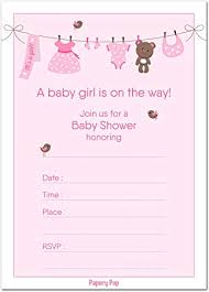 Baby Shower Invitations Template 30 Baby Shower Invitations Girl With Envelopes 30 Pack Baby Girl Shower Invite Cards Fits Perfectly With Pink Baby Shower Decorations And