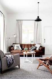 Living Room With Brown Leather Sofa 17 Best Ideas About Tan Couch Decor On Pinterest Apartment