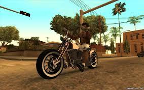 Mod motocicleta ocidental daemon de gta v para o gta san andreas. Replacement Of Bikeh Ifp In Gta San Andreas 16 File