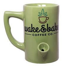 Main st ambler, pa shop beans wakecoffee.com. Best Novelty Wake And Bake Coffee Mug The Phag Shop