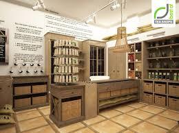 Tea shop by Kristina Krutaya