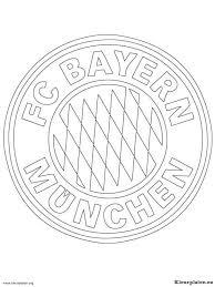 Fc Bayern Munchen Kleurplaten Kleurplateneu