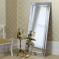 Large Decorative Mirrors For Living Room Large Floor Mirrors Leaning