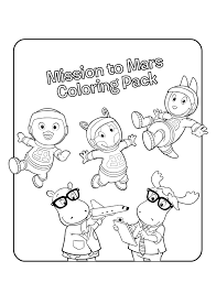 Small Picture free Backyardigans cartoon coloring pages for kids coloring7com