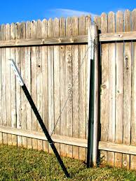 metal fence post. Lowes Metal Fence Posts Glamorous Repair Archives Sawyer Ventures  Attaching Fencing To Medium Version . Post