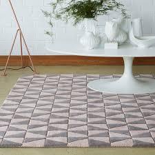 geometric grey pale pink geo05