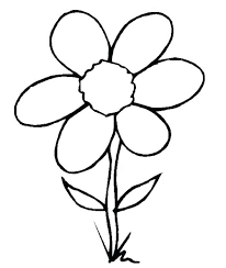 Flowers Coloring Pages Free Printable Trustbanksurinamecom