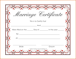 blank marriage certificate templatereference letters words blank marriage certificate template 24900651 png