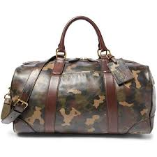 louis vuitton duffle bags for men. polo ralph lauren camouflage-print leather duffel bag ($698) ❤ liked on polyvore louis vuitton duffle bags for men