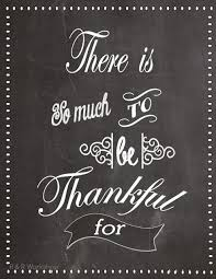 Thanksgiving Quotes For Family Custom There's So Much To Be Thankful For Free Printable J'adore