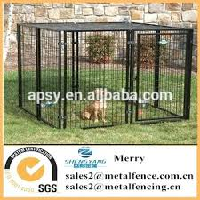 black dog fence use powder coated material kennel panel company wilmington nc fence companies wilmington nc n35