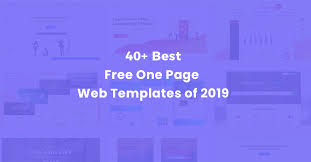 40 Free One Page Templates Of 2019 Uideck