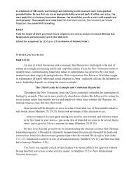 essay draft docx gospel of matthew gospel of mark