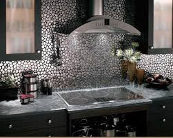 Metal Wall Tiles For Kitchen Picture Of Metal Kitchen Backsplash Tiles