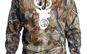 personalized deer realtree hooded pullover ddp monograms gifts