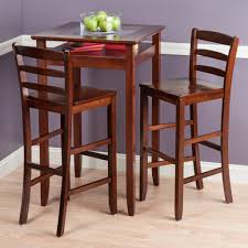 Furniture: Counter Height Table Set Beautiful 5 Piece Counter Height Dining Set  Counter Height Table