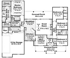 floor plan first story of acadian plan 141 1071