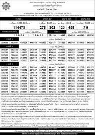 เรียงเบอร์ ฉบับมาตรฐานกองสลาก ใบตรวจหวยเรียงตัวเลข