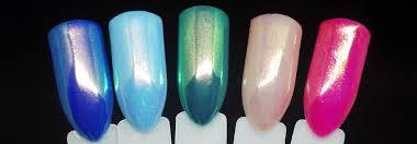 Pigment Aurora Efekt Tak Proměnlivý Jako Světélkující Polární