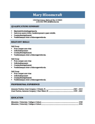 Professional Resume Template 2013 Beauteous Simple Resume Templates [28 Examples Free Download]
