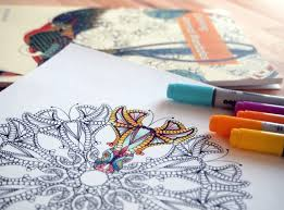 coloring with markers.  Coloring How To Use And Color Adult Coloring Books With Coloring Markers R