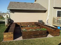 Raised Bed Gardens With Self Watering Irrigation System Album