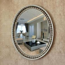 Bathroom wall mirrors Decorative Oval Decorative Cbatinfo Oval Decorative Mirror Large Oval Wall Mirror Large Big Decorative