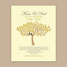 Marriage Gift Chart Amazon Com 50th Wedding Anniversary Gift Golden