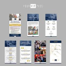 Mini Brochure Design Elegant Playful Hospitality Brochure Design For Your Vip Pass By