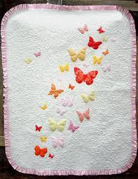 Butterflies a Flutter Baby Quilt Pattern | Baby quilt patterns ... & Butterflies a Flutter Baby Quilt Pattern Adamdwight.com