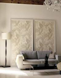 fabric covered wall panels diy ideas