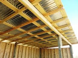 image of corrugated plastic roof panels