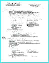 Example Of A Well Written Resume Free Resume Examples By Industry