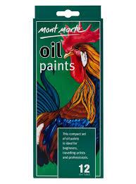 Mont Marte Oil Paints 12ml Compact Set Quality Pigments