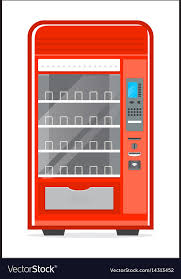 Automatic Vending Machine Fascinating Automatic Vending Machine Icon Royalty Free Vector Image
