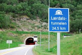 Image result for world's longest road tunnel laerdal norway 2009