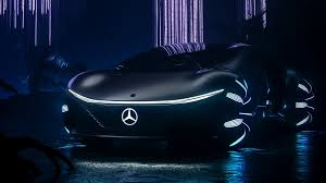 Bmw m1 hommage concept 2008. Inspired By The Future The Mercedes Benz Vision Avtr