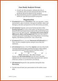 case study format moa format case study format case study analysis format 1
