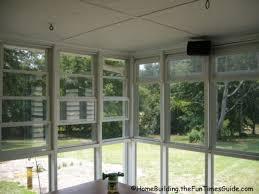 four track windows screened in porch windows